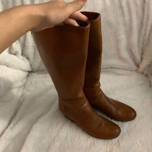 bp. Nordstrom leather brown boots Size 8